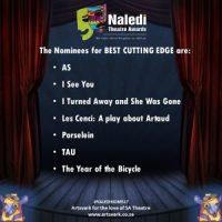 Naledi Theatre Awards Nominees 2017