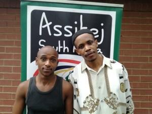 Raymond Mlaza and Samson Mlambo - The Shoe Man