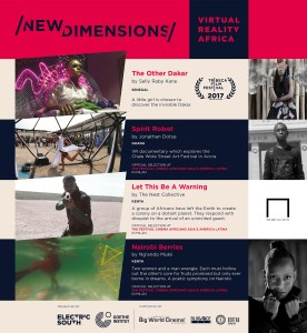 New Dimensions – Virtual Reality Africa - Digital Brochure