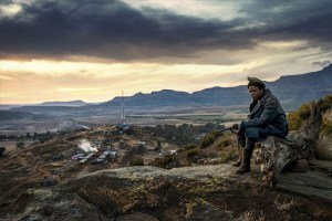 Sibusiso Bottoman in FIVE FINGERS FOR MARSEILLES