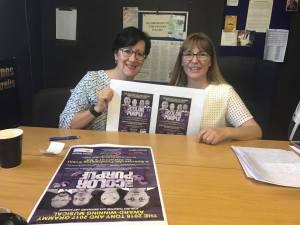 Heidi Brauer & Dina Taylor in studio talking dementia and The Color Purple.