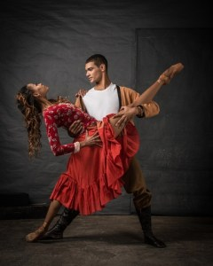 Joburg Ballet - Monike Cristina and Revil Yon in Carmen. Photo: Lauge Sorensen