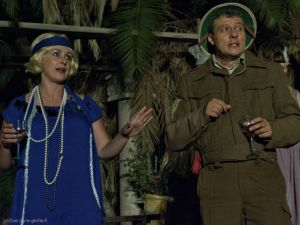 Bernardine Gardiner and Jacques Batista both won Individual Best Acting honours in a Play as Beatrice and Benedict in Much Ado About Nothing, which claimed the giant new Woodlands Dairy Floating Trophy in the annual Showtime Theatre Awards ceremonies