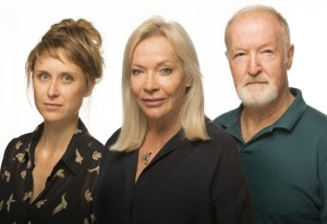 Emily Child, Sandra Prinsloo and Marius Weyers will perform in THE ROAD TO MECCA. Photo credit: Daniel Rutland Manners.