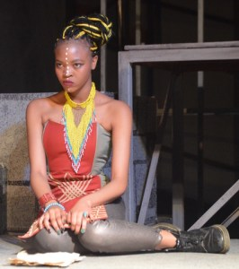 Nomvuyo Buthelezi is Lady Macbeth in Macbeth.