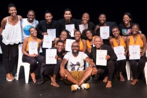 The 2018 graduates of The Playhouse Company's Community Arts Mentorship Programme
