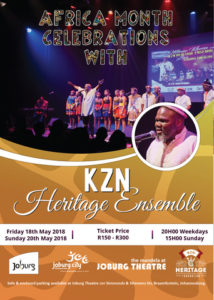 KZN Heritage Ensemble at Joburg Theatre