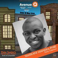 Avenue Q: Yamikani Mahaka-Phiri