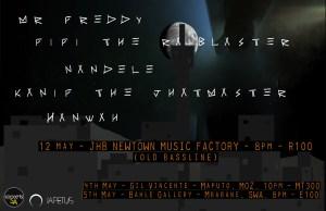 Black Matter - Tour Poster (JHB)