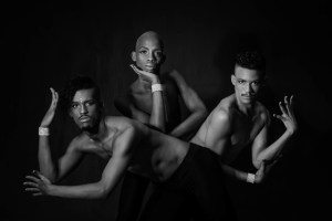 Dance students Mathew Winter, Kam Mabso and Jason-Lee Fredericks feature in a new dance production, Tshidziki: Ikiga