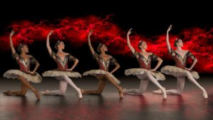 Joburg Ballet: Members of the company in Fire & Ice. Photo by Lauge Sorensen.