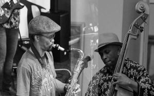 McCoy Mrubata (Sax) & Lex Futshane (Bass)
