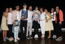The winners in the Saheti School Inter-house Play Competition 2018