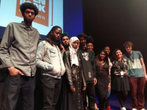 MCs and judges at Cape Town Poetry Slam 2017
