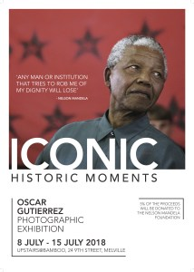 Iconic - Historic Moments - a photographic exhibition by Oscar Gutierrez