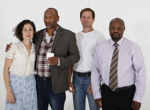 The Fool For Love cast: Kate Liquorish, Zane Meas, Langley Kirkwood and Paka Zwedala.
