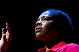 Hlengiwe Mkhwanazi in Romeo's Passion © Suzy Bernstein