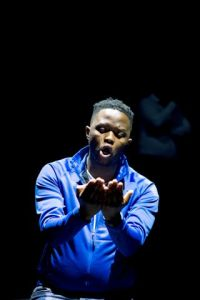Thabiso Masemene in Romeo's Passion © Suzy Bernstein