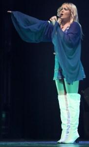 Hannah Pocock as Agnetha in The ABBA Show