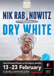 Dry White - the latest one-man show from comedian Nik Rabinowitz
