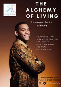Keenan Meyer brings The Achemy of Living live to Cape Town