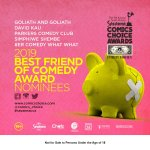 THE BEST FRIEND OF COMEDY AWARD