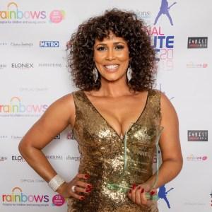 Belinda Davids at the UK's National Tribute Music Awards ©David Garcia