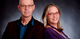 Roel Twijnstra and Emma Durden, co-authors of Acting in South Africa: Skills and Inspirations