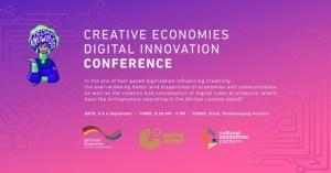 Creative Economies Digital Innovation Conference