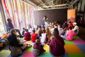 National Book Week Magic Tent at the South African Book Fair