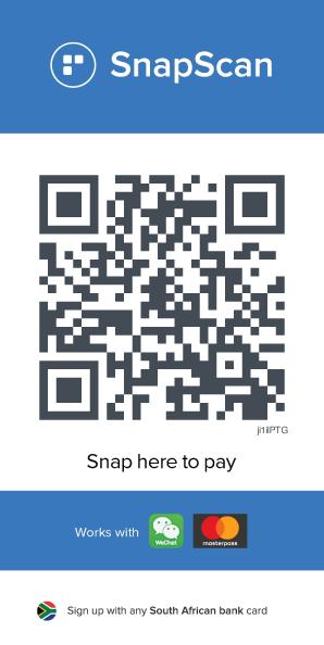 Theatre Benevolent Fund Snapscan Barcode