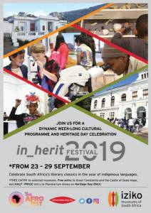 in_herit FESTIVAL at Iziko Museums of South Africa