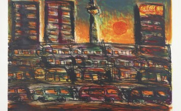 David Koloane - Sunset