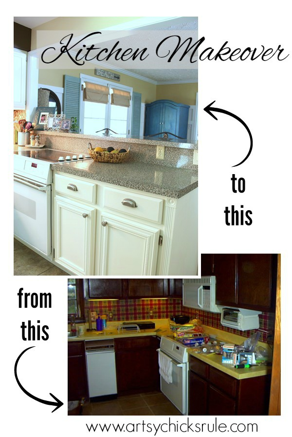 Kitchen-Makeover-Before-and-After-Half-Wall-Removed-kitchen-Makeover-artychicksrule