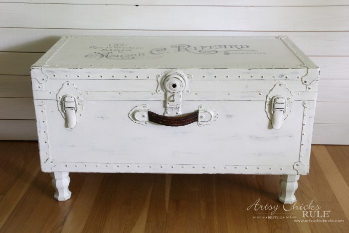 5 old trunk coffee table a thrifty