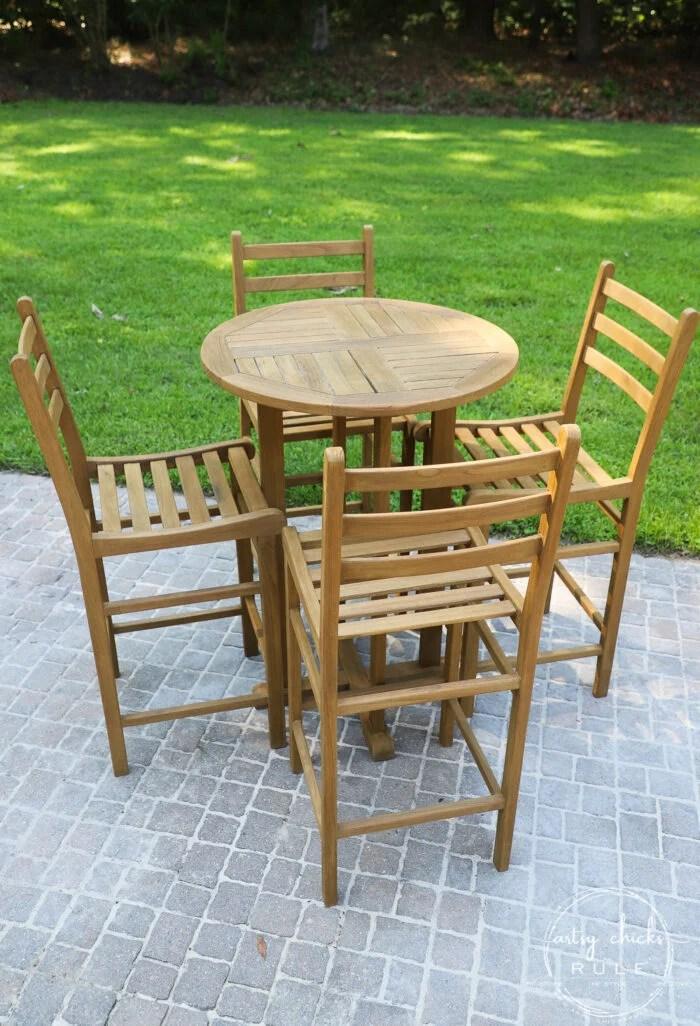 how to restore teak furniture plus