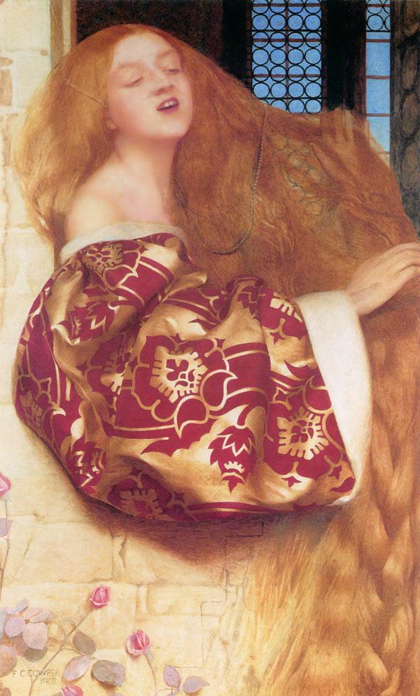 Image result for Cowper, Rapunzel