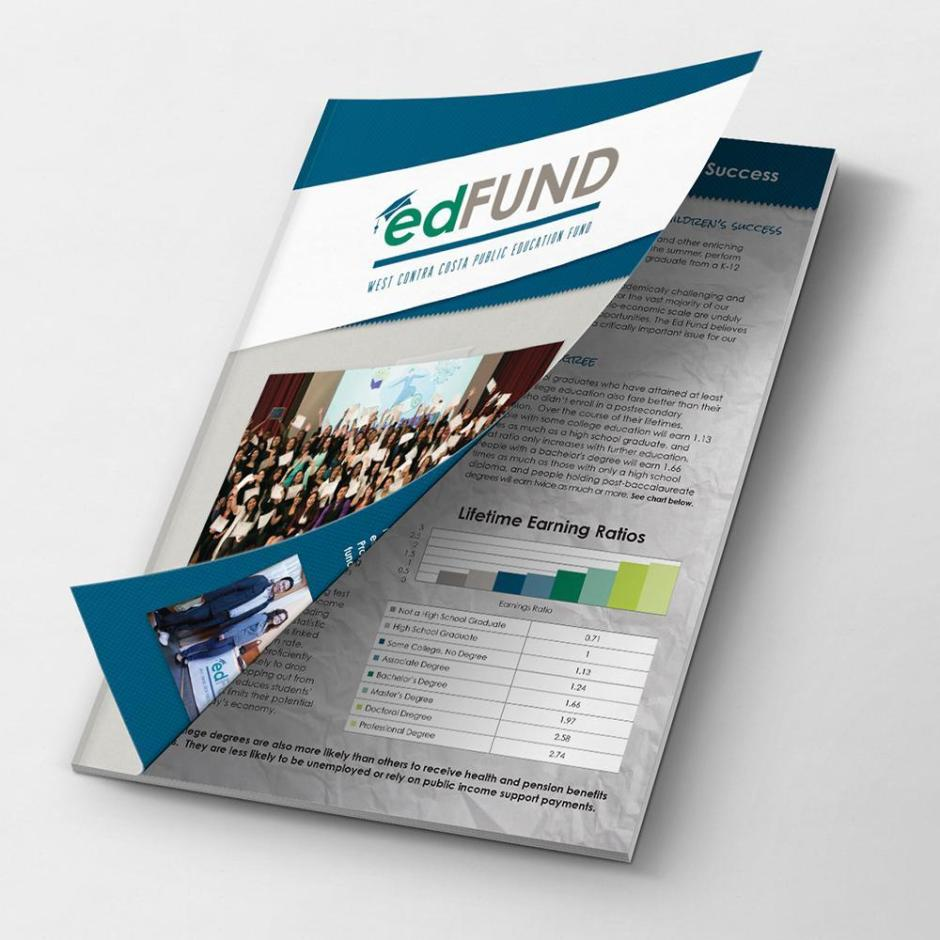 EdFund Booklet Design