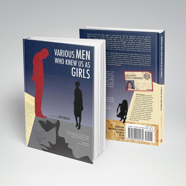 Various Men Who Knew Us As Girls Book Design