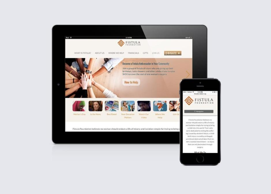 Fistula Foundation Mobile Device UI Design