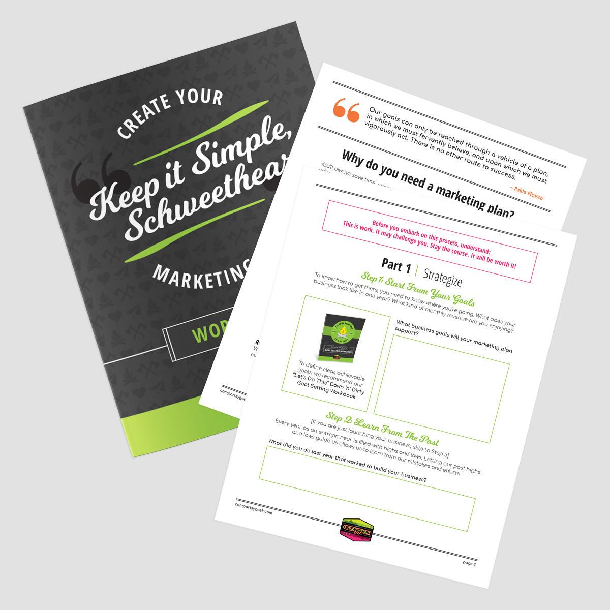 Marketing Plan Workbook
