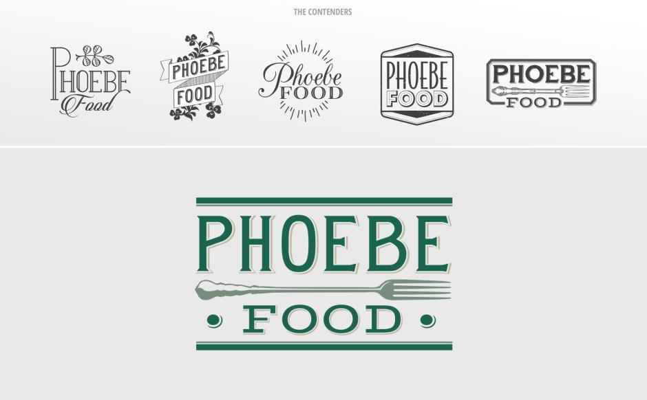 Logo Design for Phoebe Food