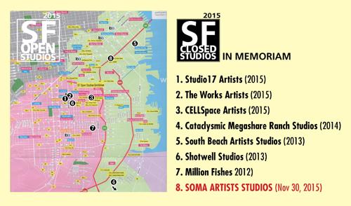 Closed Studios - in Memoriam