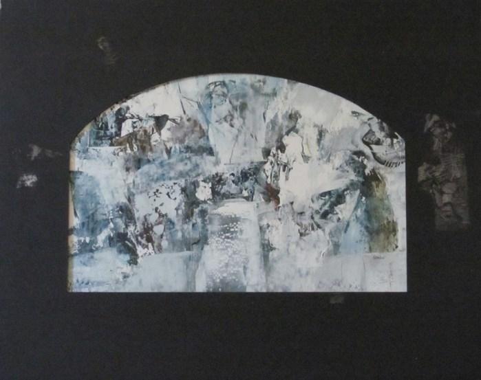 Błękitno biały ślad, 2015 r.