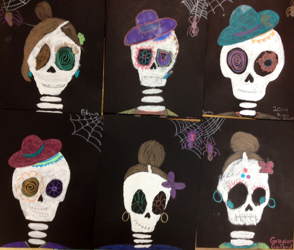 Halloween Art Lessons Archives