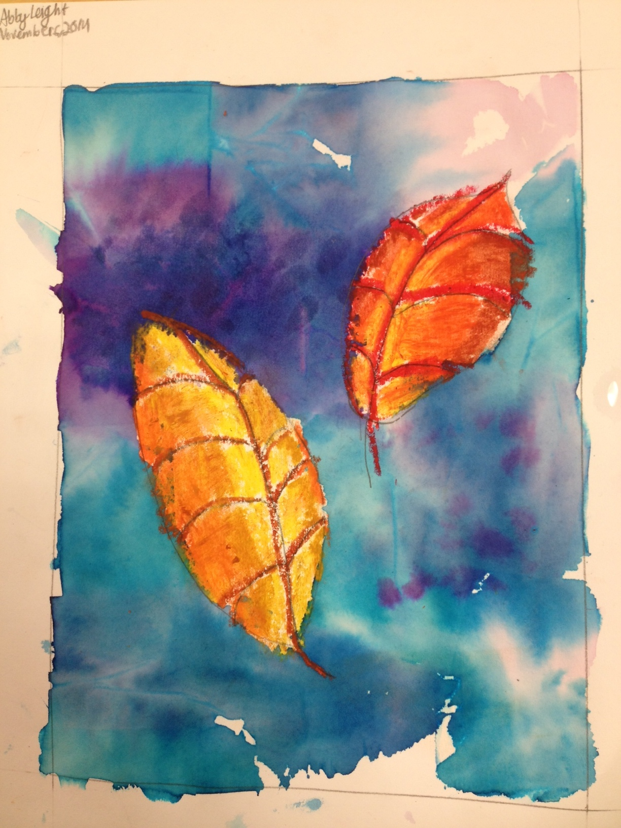 Fall Art Project For 3rd Graders