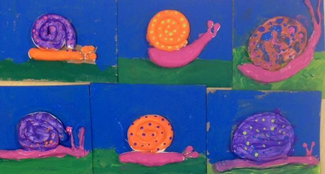 Snail Sculptures