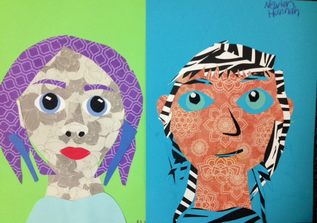 Funky Self Portraits