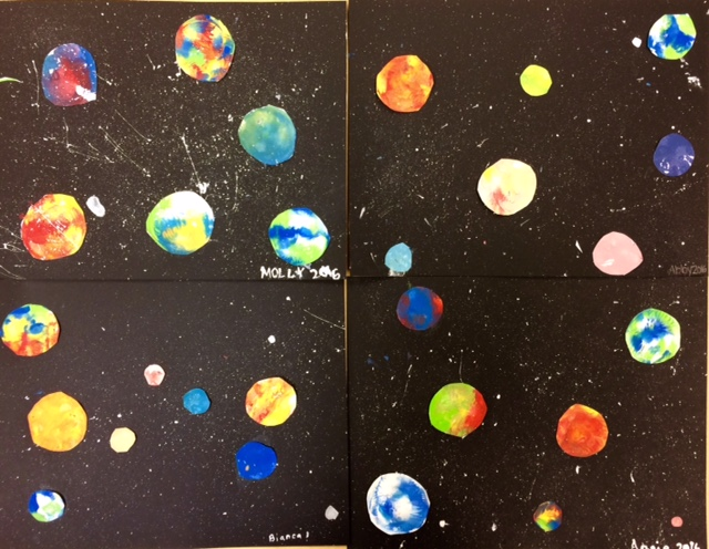 paint in the solar system drawing - photo #46