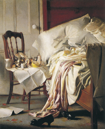 Elizabeth Okie Paxton.  The Breakfast Tray
